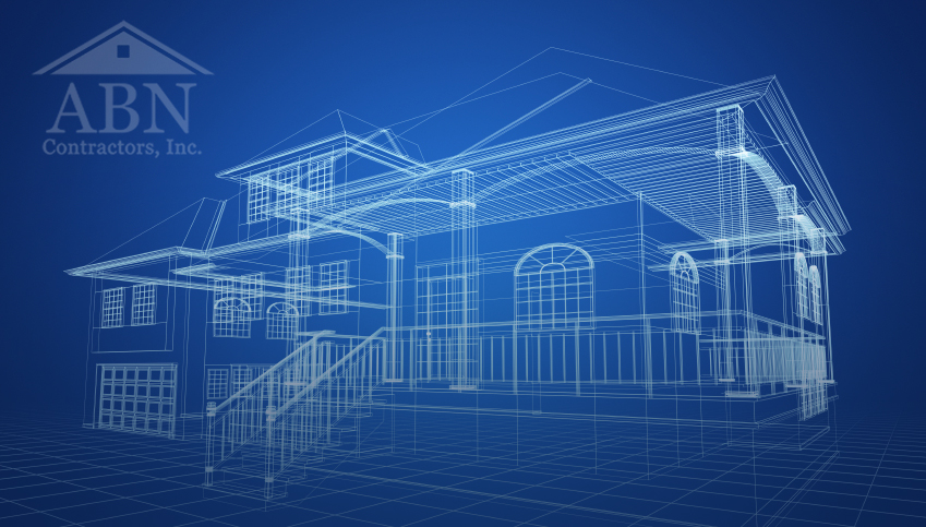 Custom homes abncontractors for Custom blueprints